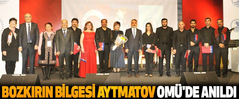 Bozkırın Bilgesi Cengiz Aytmatov OMÜ'de Anıldı