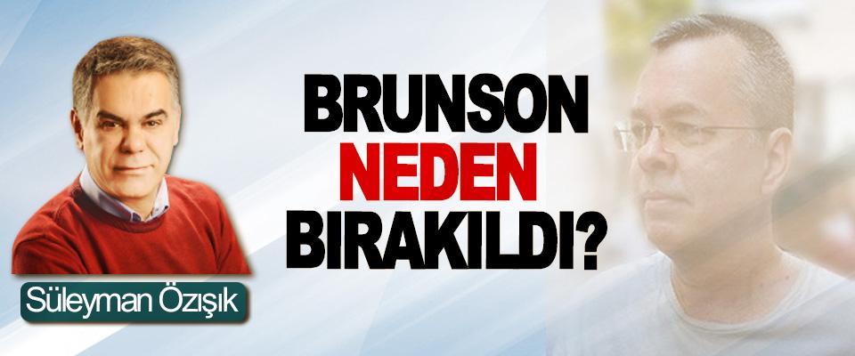 Brunson neden bırakıldı?