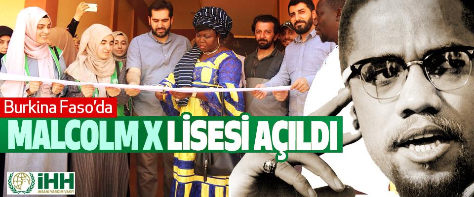 Burkina Faso'ya Malcolm X Lisesi Açıldı