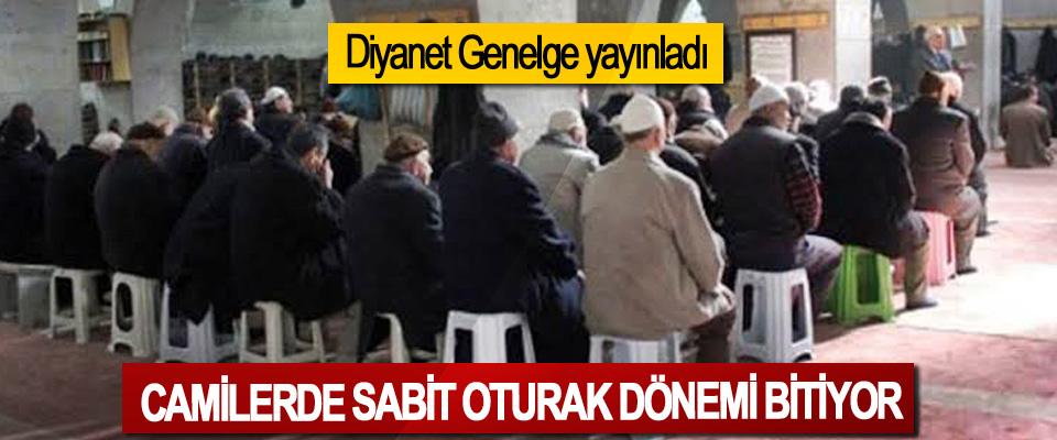 Camilerde Sabit oturaklar kaldırılacak!