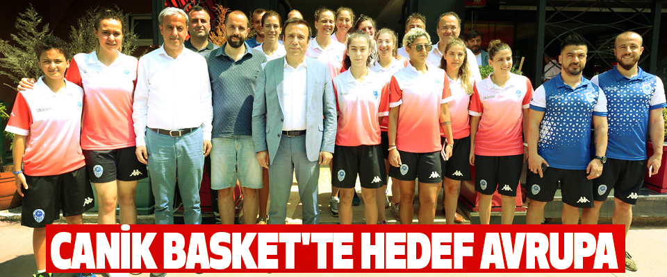 Canik Basket'te Hedef Avrupa