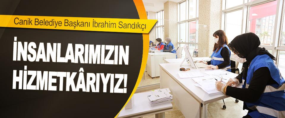 Canik Belediye Başkanı İbrahim Sandıkçı,