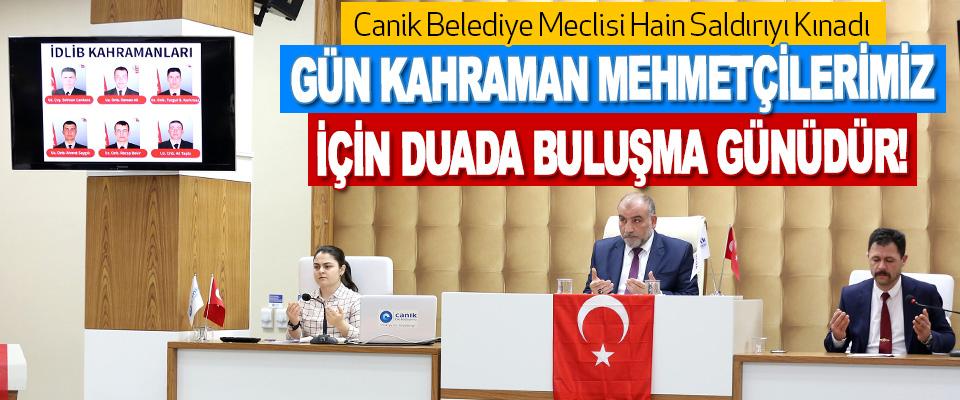 Canik Belediye Meclisi Hain Saldırıyı Kınadı
