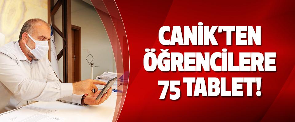 Canik Belediyesinden Öğrencilere 75 Tablet!