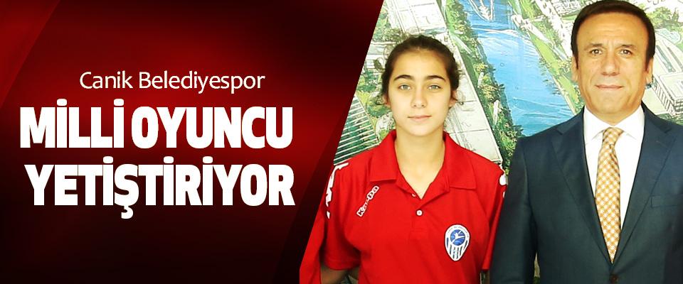 Canik Belediyespor Milli Oyuncu Yetiştiriyor