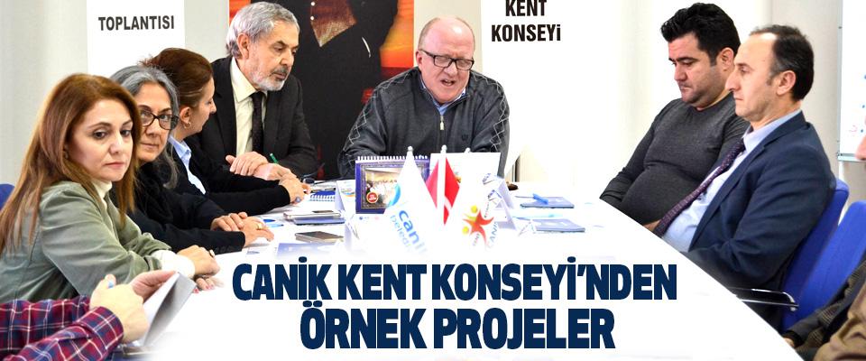 Canik Kent Konseyi'nden Örnek Projeler