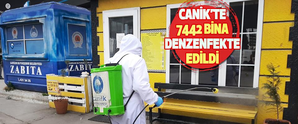 Canik'te 7442 Bina Denzenfekte Edildi