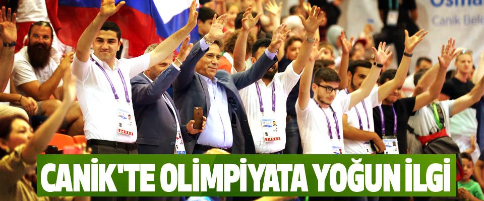 Canik'te Olimpiyata Yoğun İlgi
