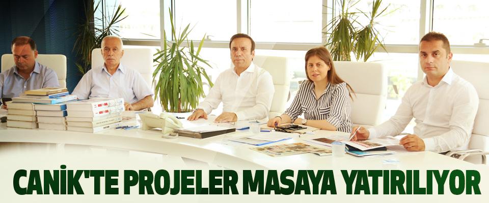 Canik'te Projeler Masaya Yatırılıyor