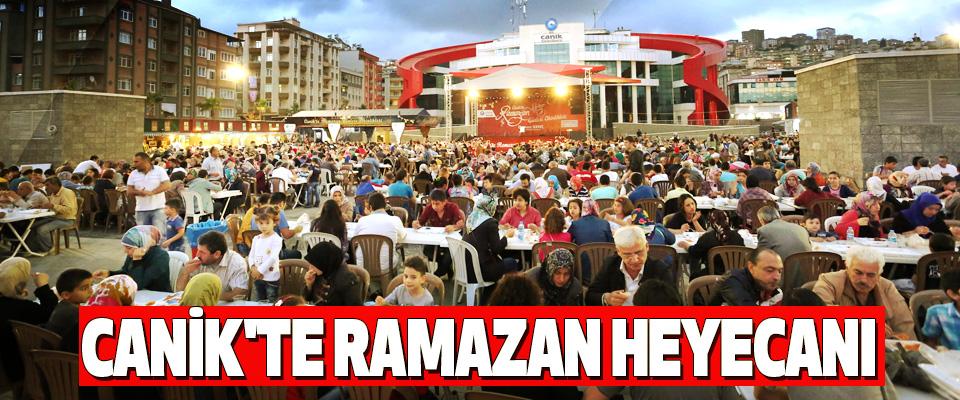 Canik'te Ramazan Heyecanı