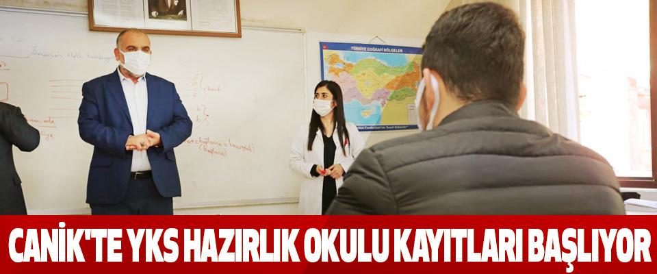 Canik'te Yks Hazırlık Okulu Kayıtları Başlıyor