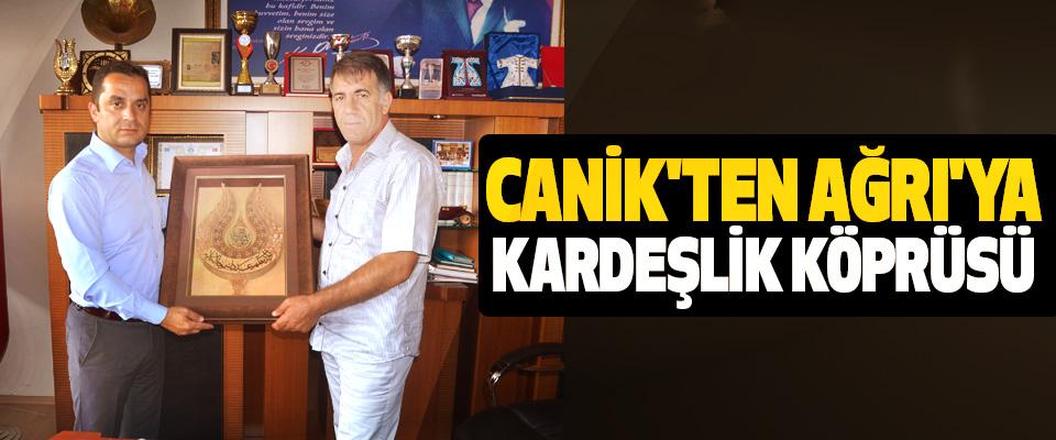 Canik'ten Ağrı'ya Kardeşlik Köprüsü