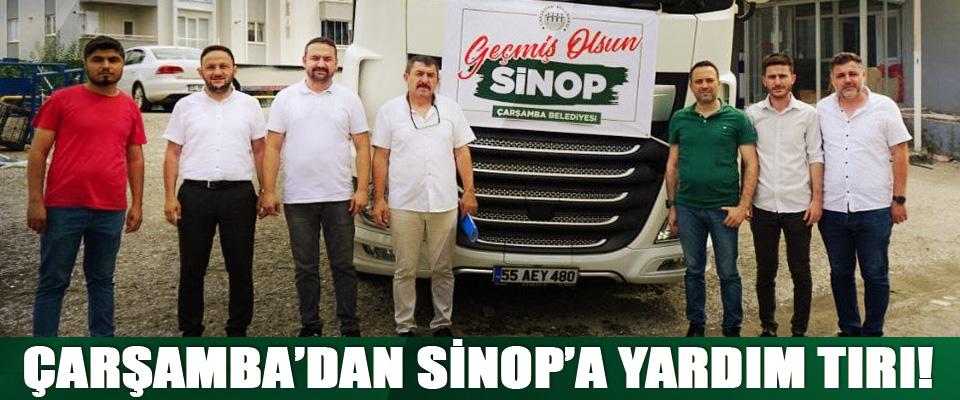 Çarşamba'dan Sinop'a Yardım Tırı!