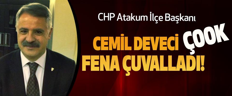 CHP Atakum İlçe Başkanı Cemil deveci çook fena çuvalladı!