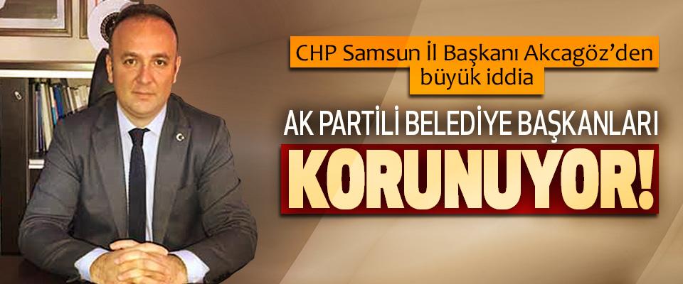 CHP Samsun İl Başkanı Akcagöz'den büyük iddia