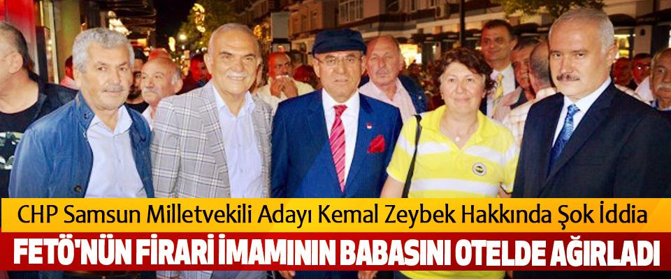 CHP Samsun Milletvekili adayı Kemal Zeybek Hakkında Şok İddia