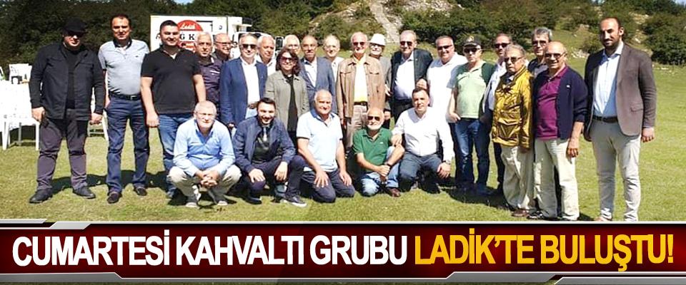 Cumartesi kahvaltı grubu Ladik'te buluştu!