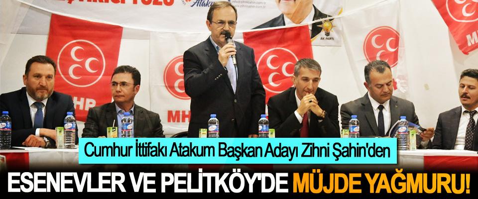 Cumhur İttifakı Atakum Başkan Adayı Zihni Şahin'den Esenevler ve Pelitköy'de müjde yağmuru!