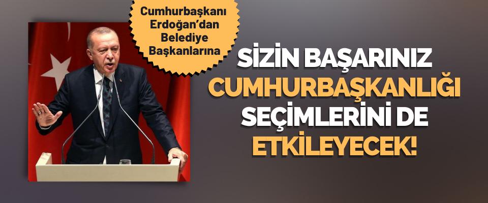 Cumhurbaşkanı Erdoğan Belediye Başkanlarını Uyardı!