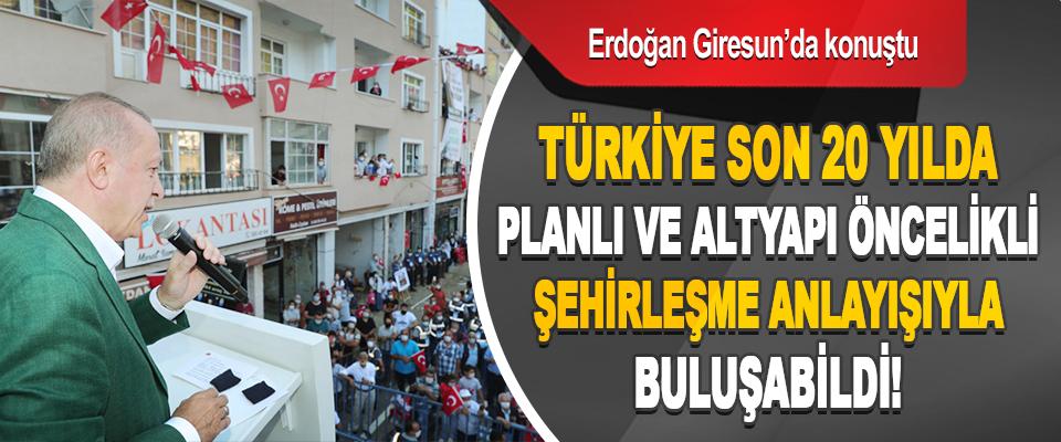 Cumhurbaşkanı Erdoğan Giresun'da Konuştu