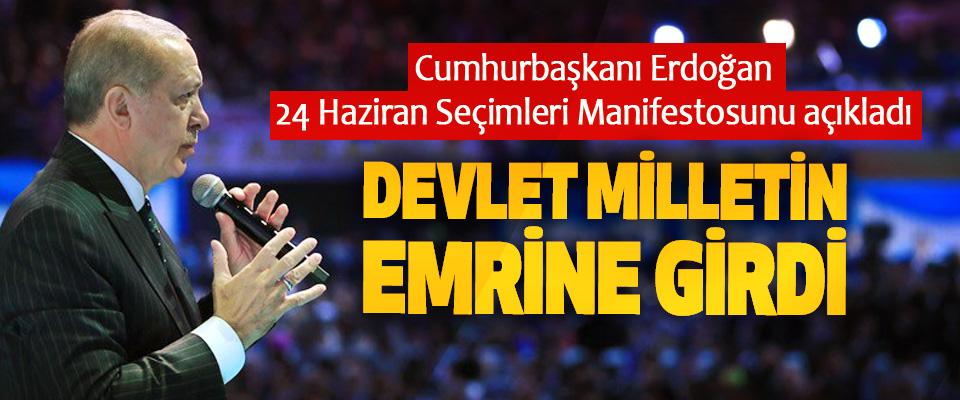 Cumhurbaşkanı Erdoğan 24 Haziran Seçimleri Manifestosunu açıkladı
