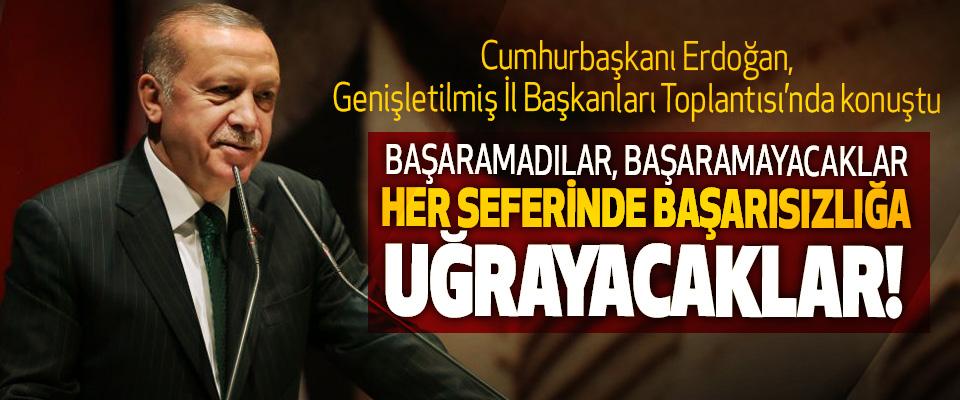 Cumhurbaşkanı Erdoğan, Genişletilmiş İl Başkanları Toplantısı'nda konuştu