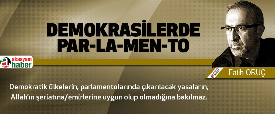 Demokrasilerde Par-la-men-to