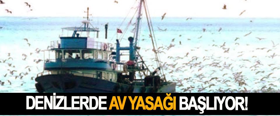 Denizlerde Av Yasağı Başlıyor!