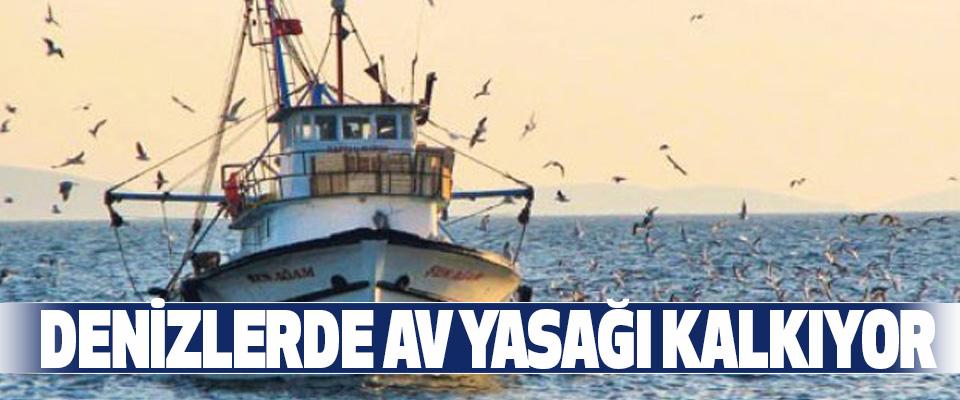 Denizlerde Av Yasağı Kalkıyor