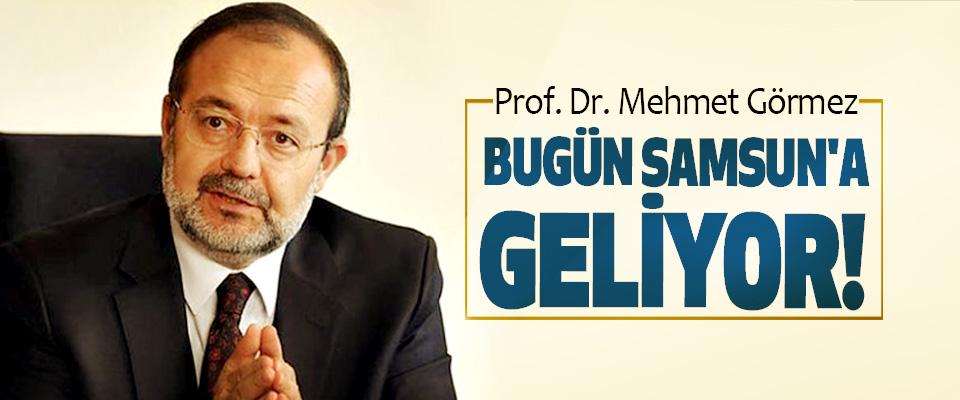 Diyanet İşleri Eski Başkanı Prof. Dr. Mehmet Görmez Bugün samsun'a geliyor!