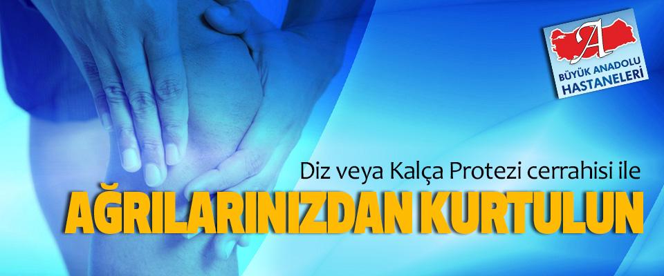 Diz veya Kalça Protezi cerrahisi ile ağrılarınızdan kurtulun