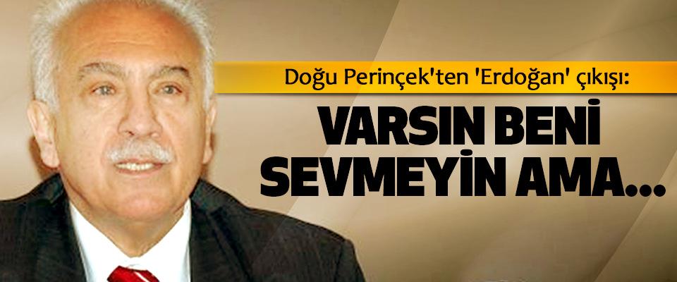 Doğu Perinçek'ten 'Erdoğan' çıkışı: Varsın Beni Sevmeyin Ama...