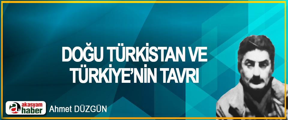 Doğu Türkistan Ve Türkiye'nin Tavrı