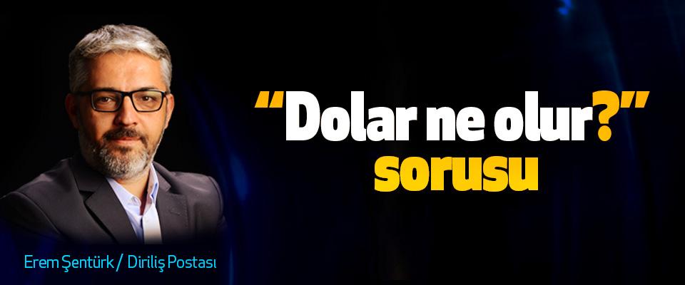 """""""Dolar ne olur?"""" sorusu"""