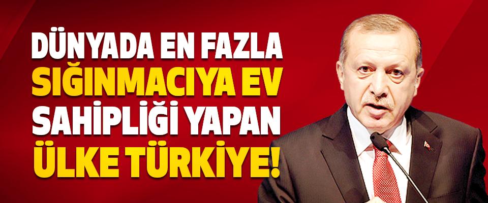 Dünyada En Fazla Sığınmacıya Ev Sahipliği Yapan Ülke Türkiye!