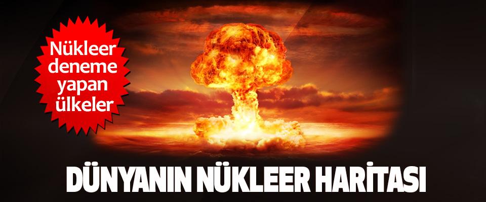 Dünyanın Nükleer Haritası