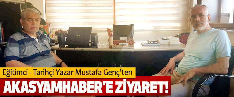 Eğitimci - Tarihçi Yazar Mustafa Genç'ten Akasyamhaber'e ziyaret!