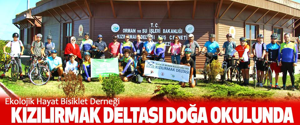 Ekolojik Hayat Bisiklet Derneği Kızılırmak Deltası Doğa Okulunda
