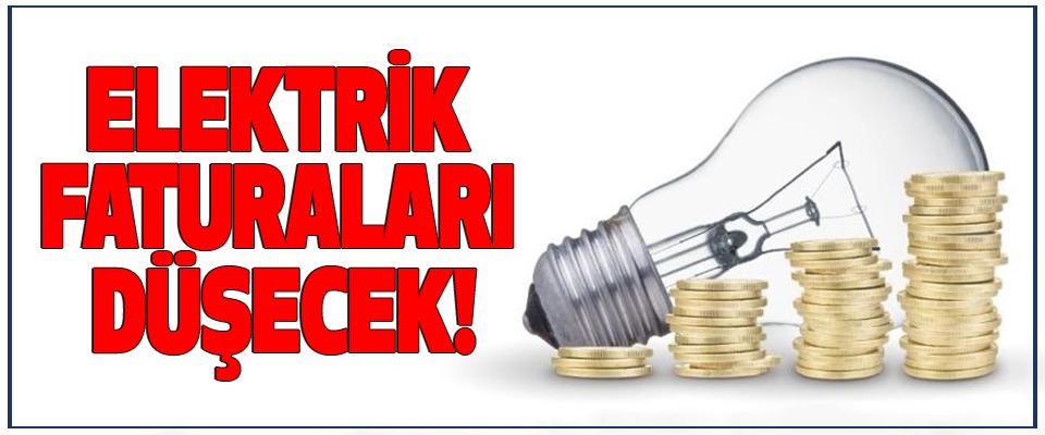 Elektrik faturaları düşecek!