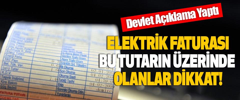 Elektrik faturası bu tutarın üzerinde olanlar dikkat!