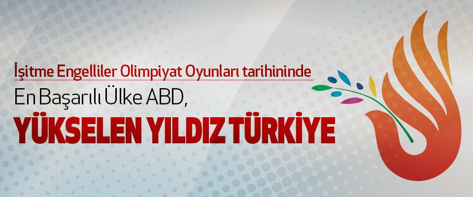 En Başarılı Ülke ABD, Yükselen Yıldız Türkiye