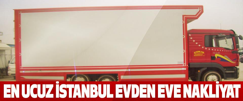 En ucuz İstanbul evden eve nakliyat