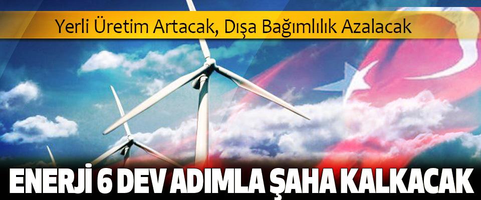 Enerjide Yerli Üretim Artacak, Dışa Bağımlılık Azalacak