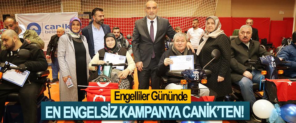 Engelliler Gününde En Engelsiz Kampanya Canik'ten!