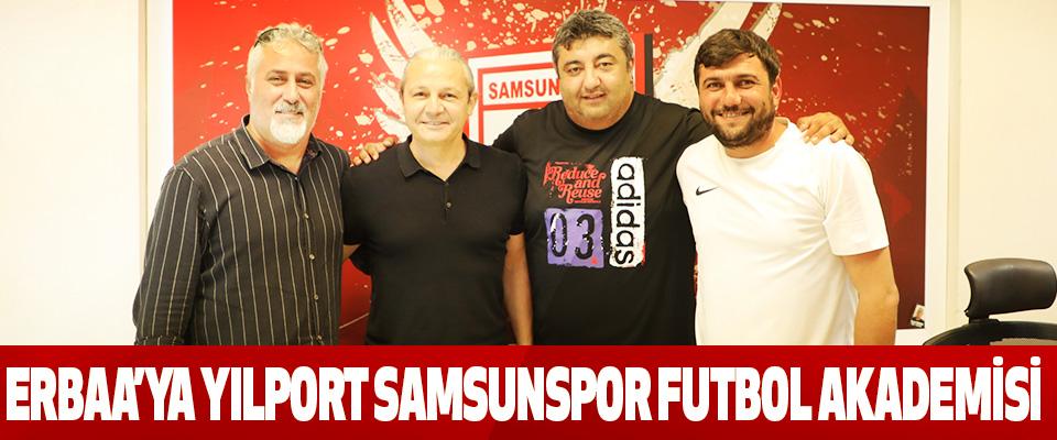 Erbaa'ya Yılport Samsunspor Futbol Akademisi