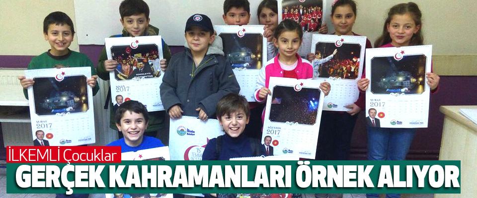 Erdoğan Tok, İlkemli Çocuklar, Gerçek Kahramanları Örnek Alıyor