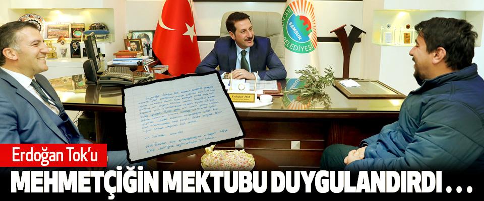 Erdoğan Tok'u Mehmetçiğin Mektubu Duygulandırdı…