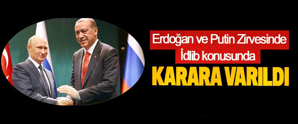 Erdoğan Ve Putin Zirvesinde Karara Varıldı
