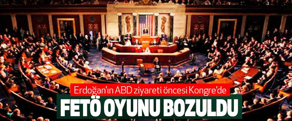 Erdoğan'ın ABD ziyareti öncesi Kongre'de Fetö Oyunu Bozuldu