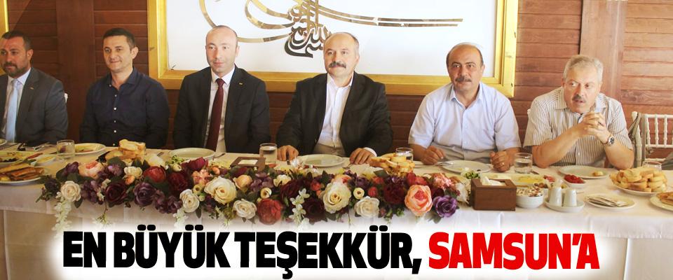 Erhan Usta: En Büyük Teşekkür, Samsun'a